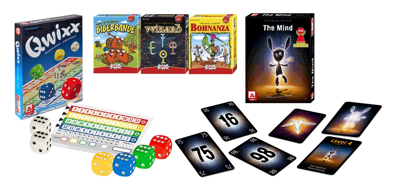 Karten- und Würfelspiele