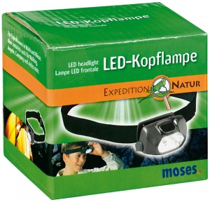Expedition Natur LED Kopflampe