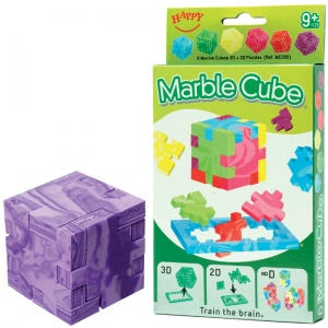Happy Cube Marble Cube 6er-Pack