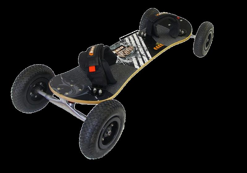 KHEO Kicker v2 schwarz, 8 Zoll Räder
