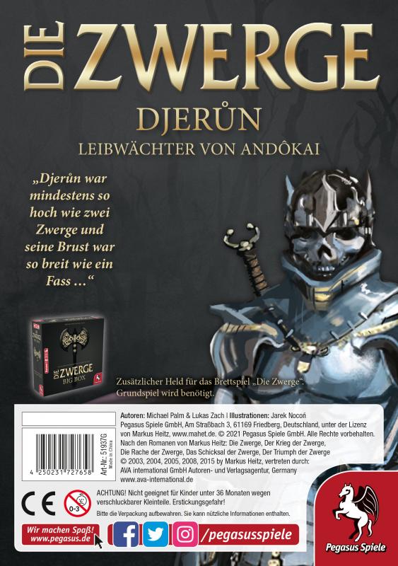 Die Zwerge Charakterpack: Djerun