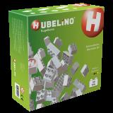 Hubelino Kugelbahn Konstruktionsbausteine weiß, 105 Teile