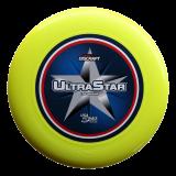 Discraft Ultra Star 175g Center Print Yellow