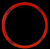 Abwurfkreis, 50cm, starr