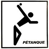 Aufkleber Piktogramm Tireur