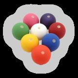 Bubble Ball Peach, ca. 69mm