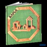 Kapla Buch Nr.3, grün, Architektur